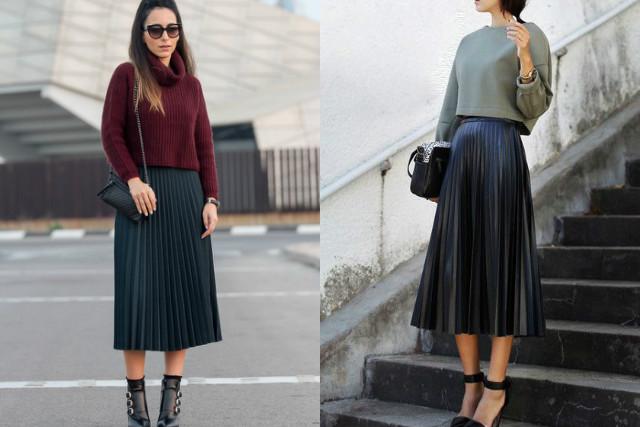 Plisadas En 10 Incluir Tu Las Combinaciones Faldas Para Outfit CxXwqYXO