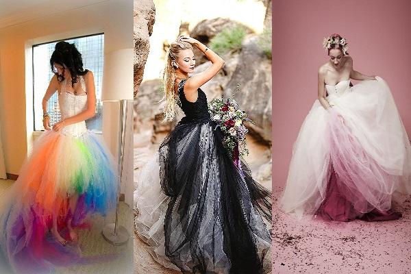 vestido de novia, 6 estilos únicos y originales para tu boda