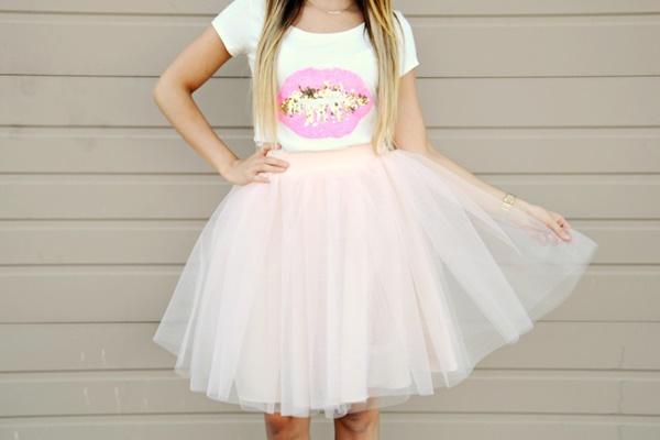 19db5194e 10 ideas que necesitas para combinar tus Faldas de tul