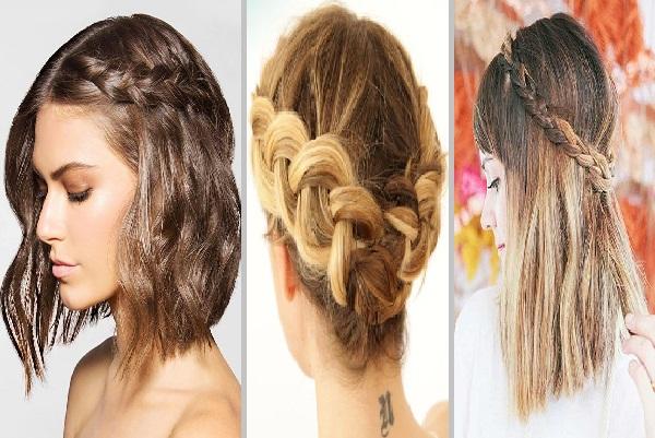 adorables trenzas para cabello corto que debes probar