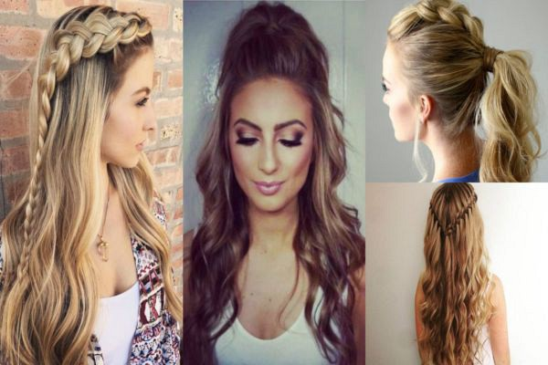8 Peinados Hermosos Para Chicas Con Cabello Largo Magazine De Moda
