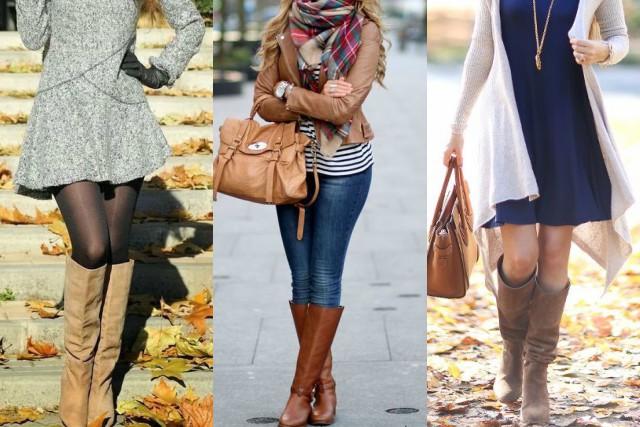 8ddcce281e 14 outfits con botas que necesitas lucir esta temporada - Magazine ...