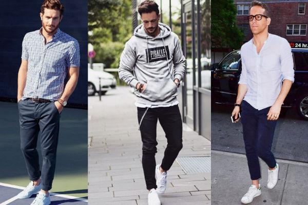 6 pares de tenis blancos que son tendencia este otoño - Magazine de moda f3357fb793e6