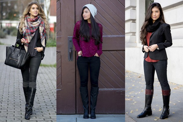 6 outfits increíbles con jeans negros 3fadd46bf895a