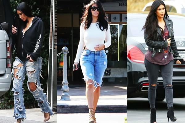 8 maneras de usar jeans al estilo de Kim Kardashian - Magazine de moda 67960bdeffe7