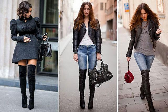 Vestidos Para Usar Botas Largas Las Mejores Modelos De