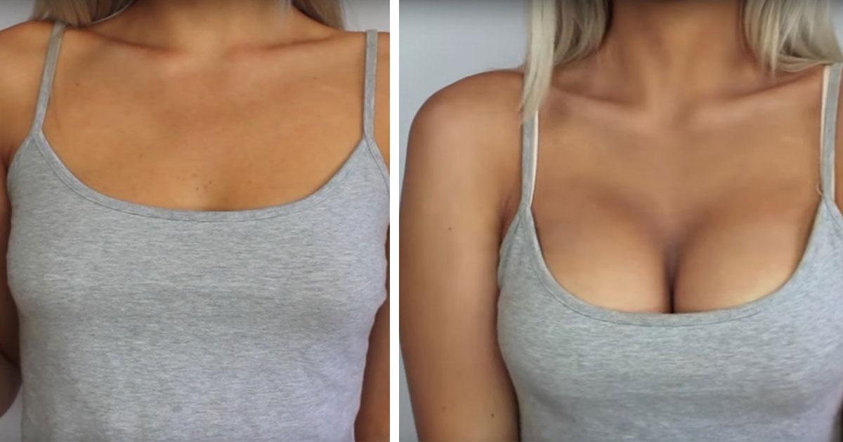 Ejercicios para tener mas pechos