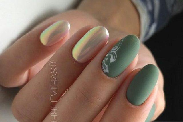 14 encantadores diseños de uñas mate