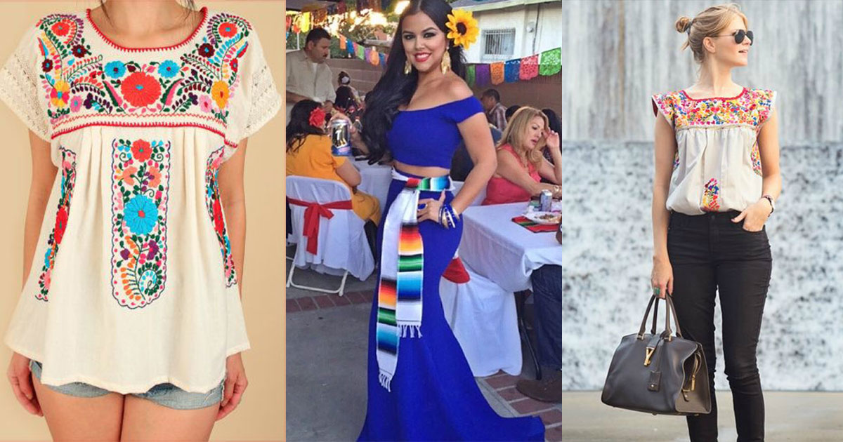Vestidos para noche mexicana modernos