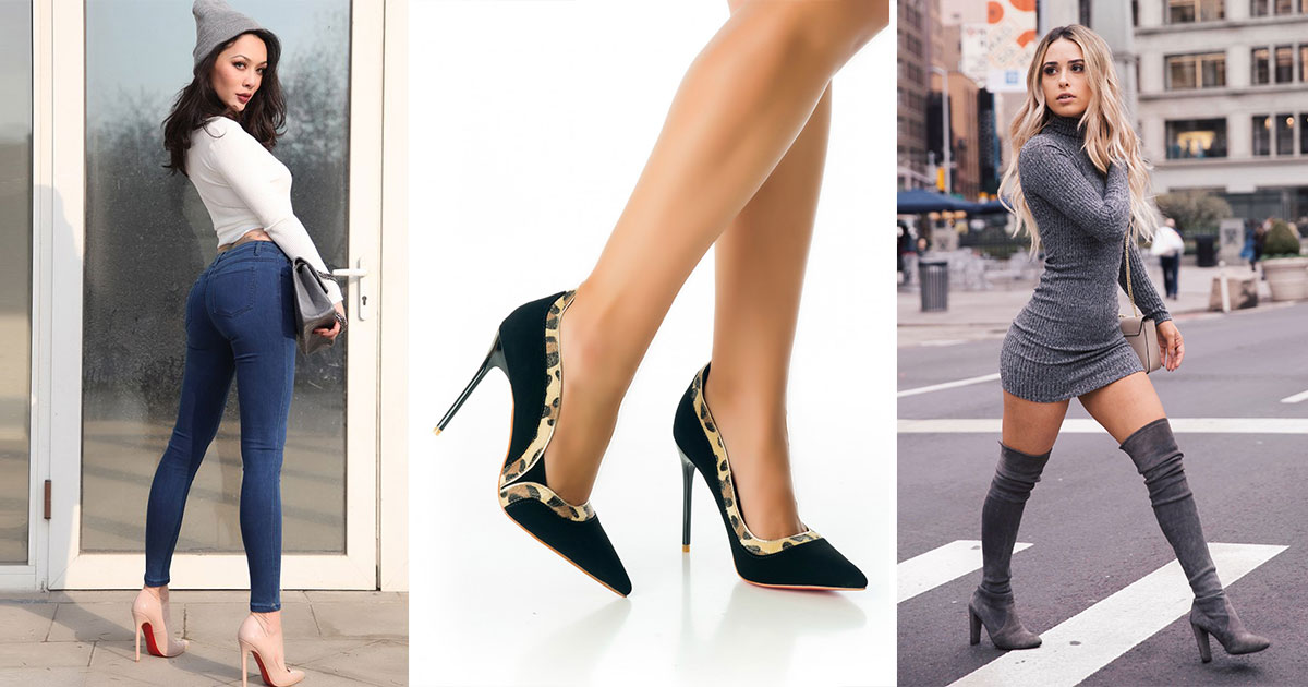 dfb3951f3b 5 zapatos lindos que te ayudarán a lucir pompis más grandes